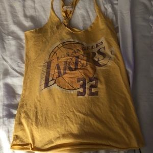 LA lakers tank Small Magic Johnson